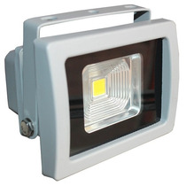 Reflector Led 10w Blanco Interiores / Exteriores