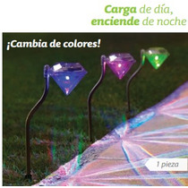 Lampara Solar Jardin Cod 15728