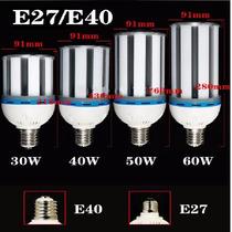 Foco Led 50w Mazorca - E27/ E40 - Blanco O Cálido