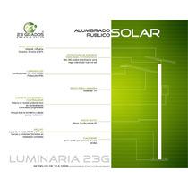 Alumbrado Publico Solar Led 30w