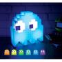 Paladone Pac-man Ghost Light Lampara Que Cambia De Color