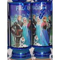Frozen Recuerdos Centros De Mesa Lamparas Frozen