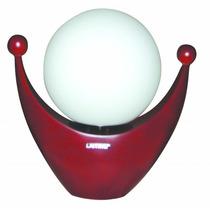 Lámpara De Mesa - Colección Wood - 1 Luz - Base Curva