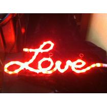 Figura Luminosa Love