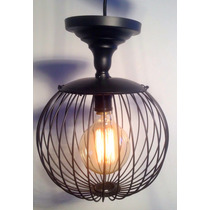 Lampara Decorativa Industrial Vintage Colgante Esfera