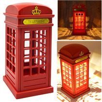 Lampara Cabina De Telefono Londres 22cm Decoración London
