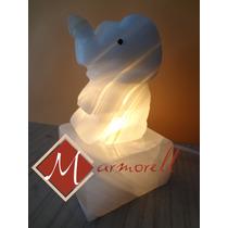 6 Mod.lamparitas Ónix, Elefante,tortuga,delfín,manzana Promo