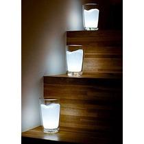 Q Lámpara Vaso De Leche Luz De Noche