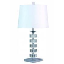 Lámpara De Mesa Fabricada En Cristal, Modelo:t090831