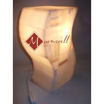 Lámpara De Onix Forma De S , 30 Cm Envío Gratis $550.00