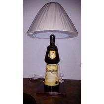 Lampara De Mesa De Botella Frangelico Con Dimmer