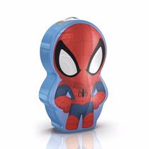 Lámpara De Mesa - Philips Linterna Portátil Spider Man