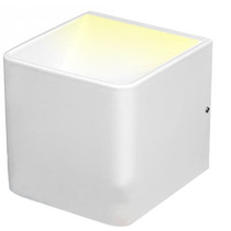 Arbotante Cubo De Aluminio Para Muro Led 5w Voltech 47337