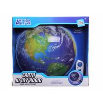 Lámpara De Pared La Tierra En Mi Habitación Incluye Control