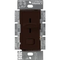 Lutron S-600p-br Skylark Unipolar Dimmer Con Interruptor De