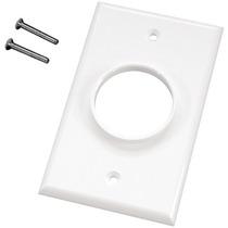 Midlite 1gwh Plate Sola Cuadrilla Wireport (tm) Muro (blanco
