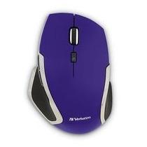 Mouse Deluxe Inalambrico Verbatim Blue Led Violeta 99017