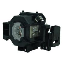 Lámpara Con Carcasa Para Epson Powerlite 83 Proyector
