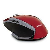 Mouse Deluxe Inalambrico Verbatim Blue Led Rojo 99018