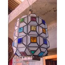 Exclusiva Lampara Farol Cristal Estilo Antiguo Minimalista