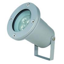 Reflector De Acento Led 3w Cuerpo Aluminio Gris 10cmx16cm Tl