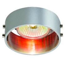 Luminario Decorativo Techo Empotrar Acabado Aluminio Illux