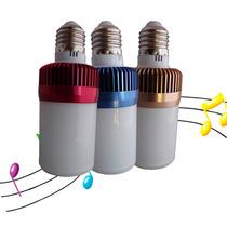 Foco Led Bocina Bluetooth Ahorra Luz Y Escucha Tu Música