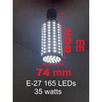 Foco Tipo Mazorca De 40 Watts Luz Blanca E27 165 Smd 5730led
