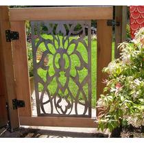 Aplicaciones Metal Puerta Jardin Exterior