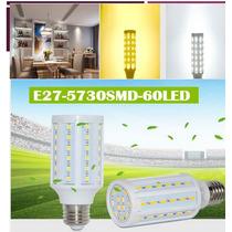 Lote 5 Focos Led Ahorradores E27 Luz Blanca Y Cálida