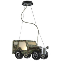 Linea Infantil - Lámpara Carro Humer Para Niña Y Niño. Md6m