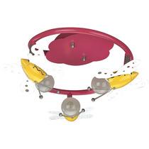 Linea Infantil - Lámpara Para Niña- Con Figuras De Mariposas