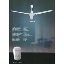 Ventilador Con Control Incluido