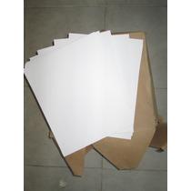 Hojas Blancas Opalinas Tamaño Carta