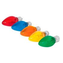 50 Focos Incandescentes Varios Colores 120 V Voltech 46822