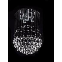 Esfera Candiles De Cristal Cortado 40 Cm De Diámetro