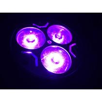 Foco Led Dicroico 3w Luz Negra Uv Ultravioleta E27 Gu10 Mr16
