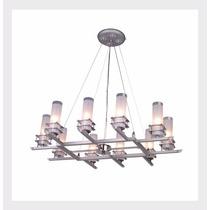 Lámpara Decorativa Alicante Mod. P-8774-9+1pt Candil