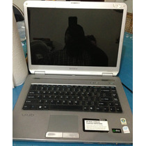 Laptop Sony Vaio Vgn-nr160e Windows 7