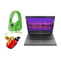 Laptop Lenovo 500gb 4gb 14 + Diadema + Mouse Laptops
