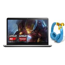 Laptop Dell Inspirion Amd A8 Quadcore 2tb 8gb Win10 R5 17.3