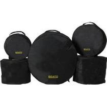Beato Pro 4 Nylon 5 Piezas Bolsa Drum Set Bolsa (dmc500)