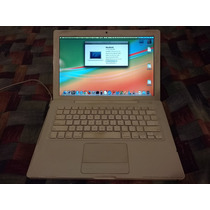 Laptop Macbook Blanca 13 2008 + 6 Gb Ram