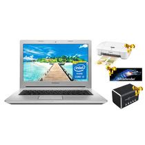 Laptop Lenovo Z40 Intel Core I3 240gb Ssd 16gb 14 Dvd Plata