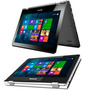 Laptop 2 En 1 Lenovo Yoga 300,quad,4gb,500gb,11.6 Touch,w8.1