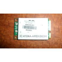 Tarjeta Inalámbrica Wi-fi Para: Compaq Cq60 224nr Vbf