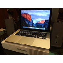 Macbook Pro 2012 13.3 Pulgadas I5 4 X 500 Super Cuidada