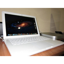 Macbook Blanca Unibody 13 Modelo 2009 En Excelente Estado!