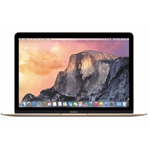 Laptop Apple Macbook 12 Retina 256gb Ram 8gb Dorada Mk4m2e/a