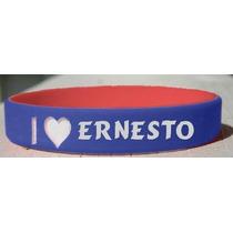 Amo A Ernesto Pulsera Personalizada (nombre / Apellido / Apo